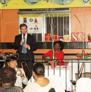 West Indian Social Club of Hartford Welcomes Mayor