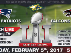 2017 Superbowl LI PARTY - February 5th -West Indian Social Club - FREE ADMISSION
