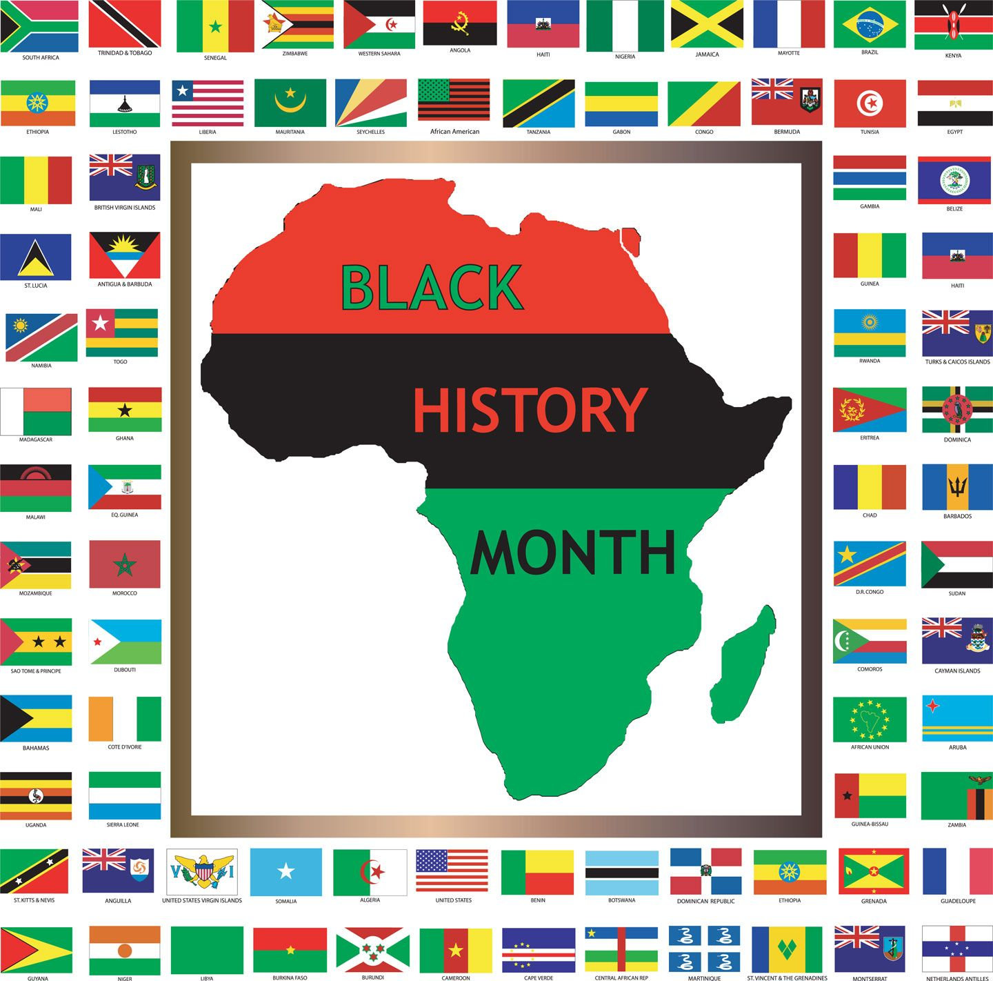 West Indian Social Club's - Black History Month Celebration - February